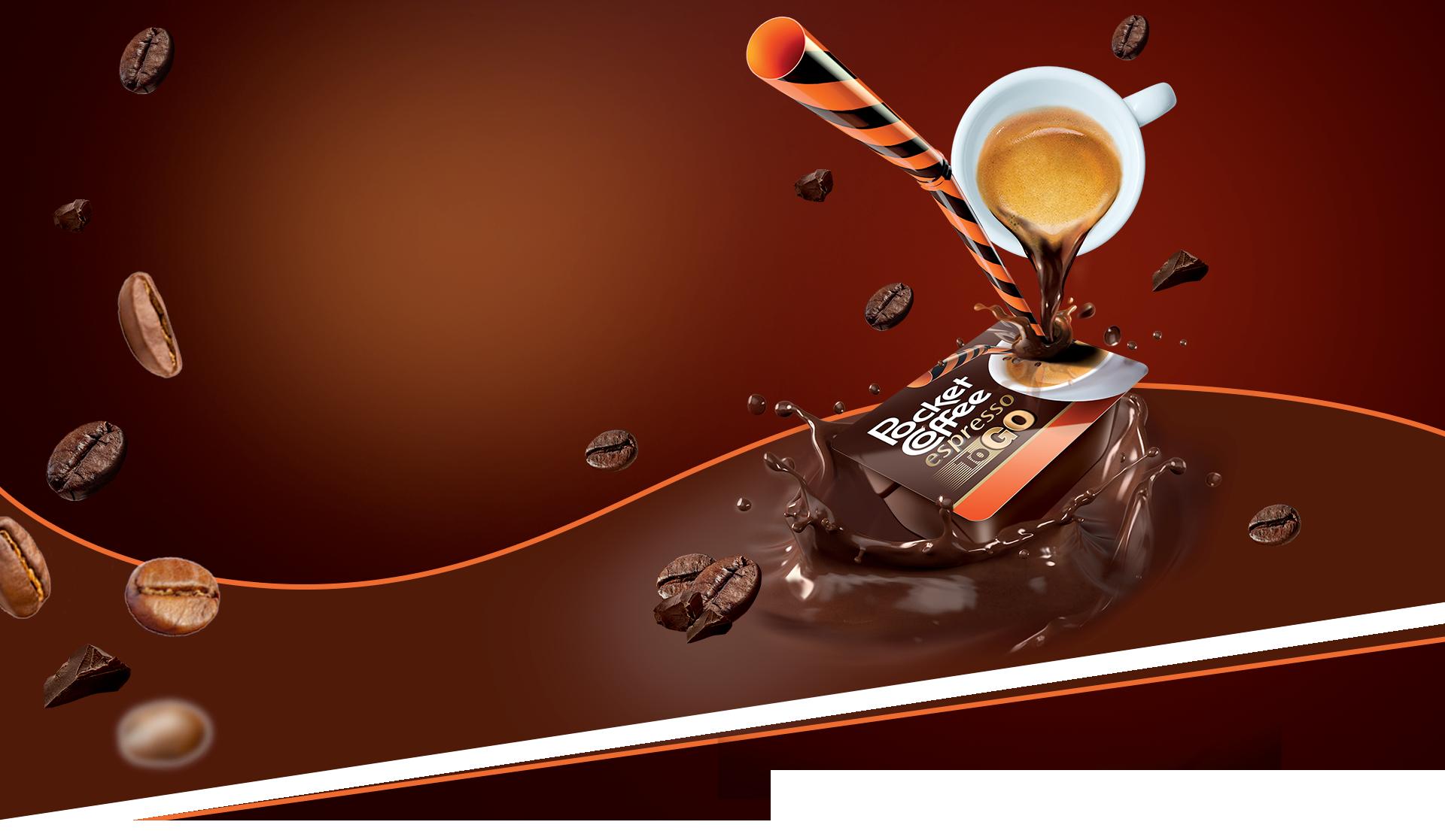 Pocket Coffee - Banner homepage